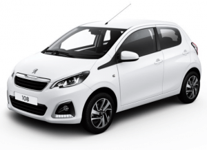 Peugeot 108 Allure Private Lease